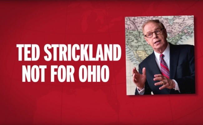 Freedom Partners – Response to Ted Strickland for US Senate