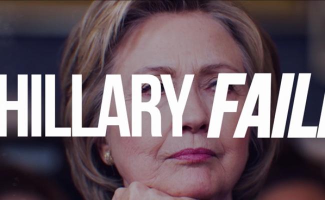 Trump For President – Hillary Failed