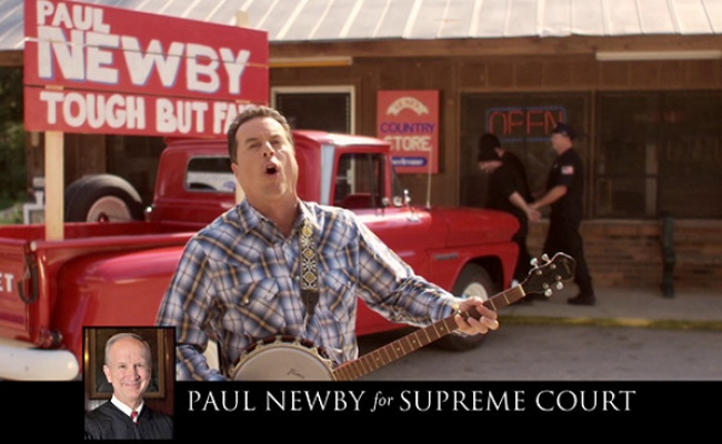 Paul Newby For Supreme Court – Banjo Ad