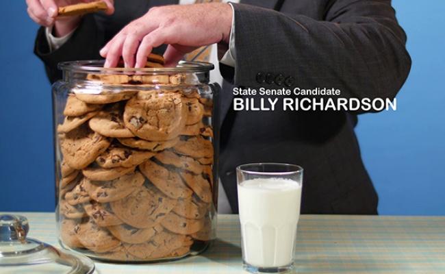 State Sen. Wesley Meredith – Cookie Jar Ad