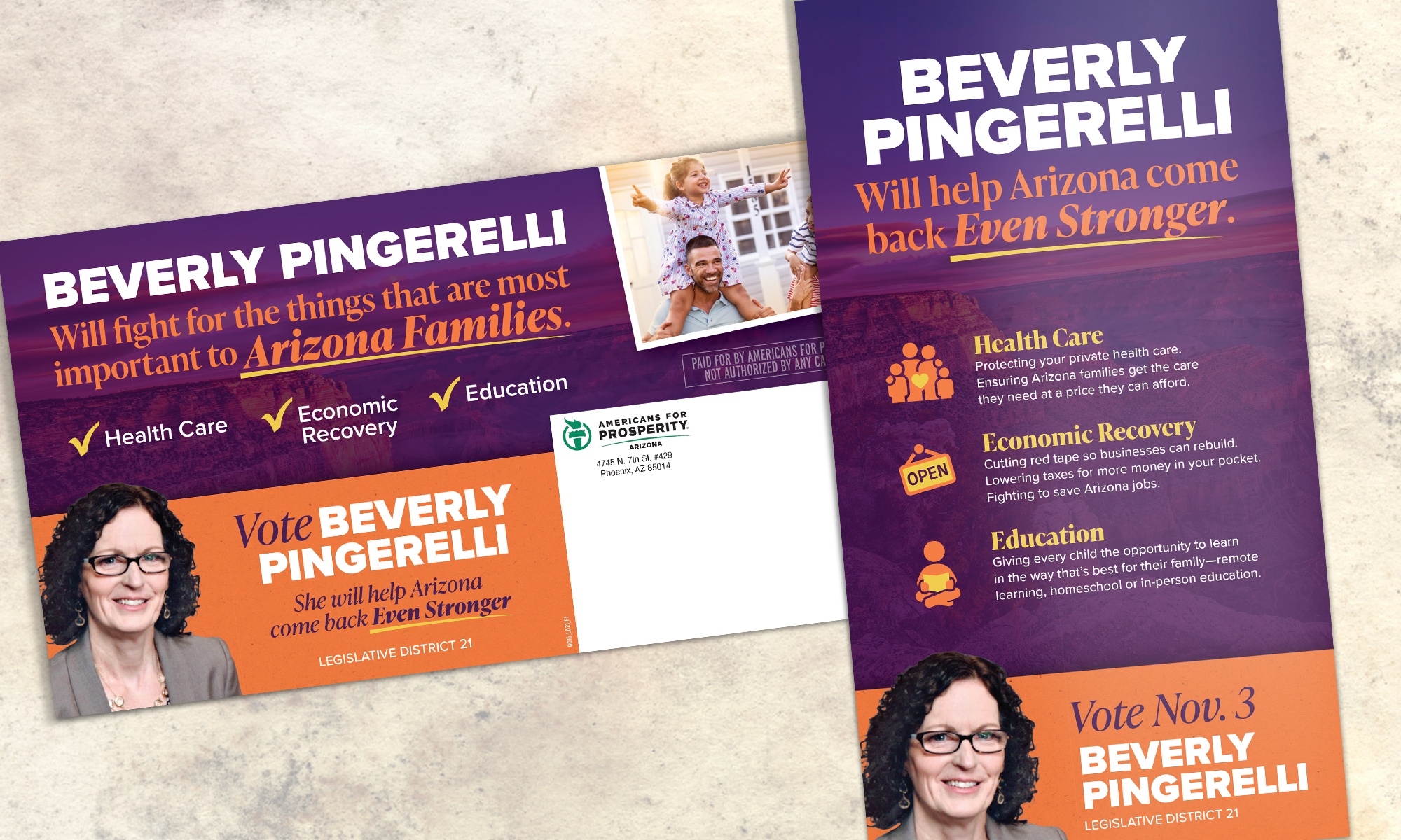 Americans for Prosperity-Arizona direct mail