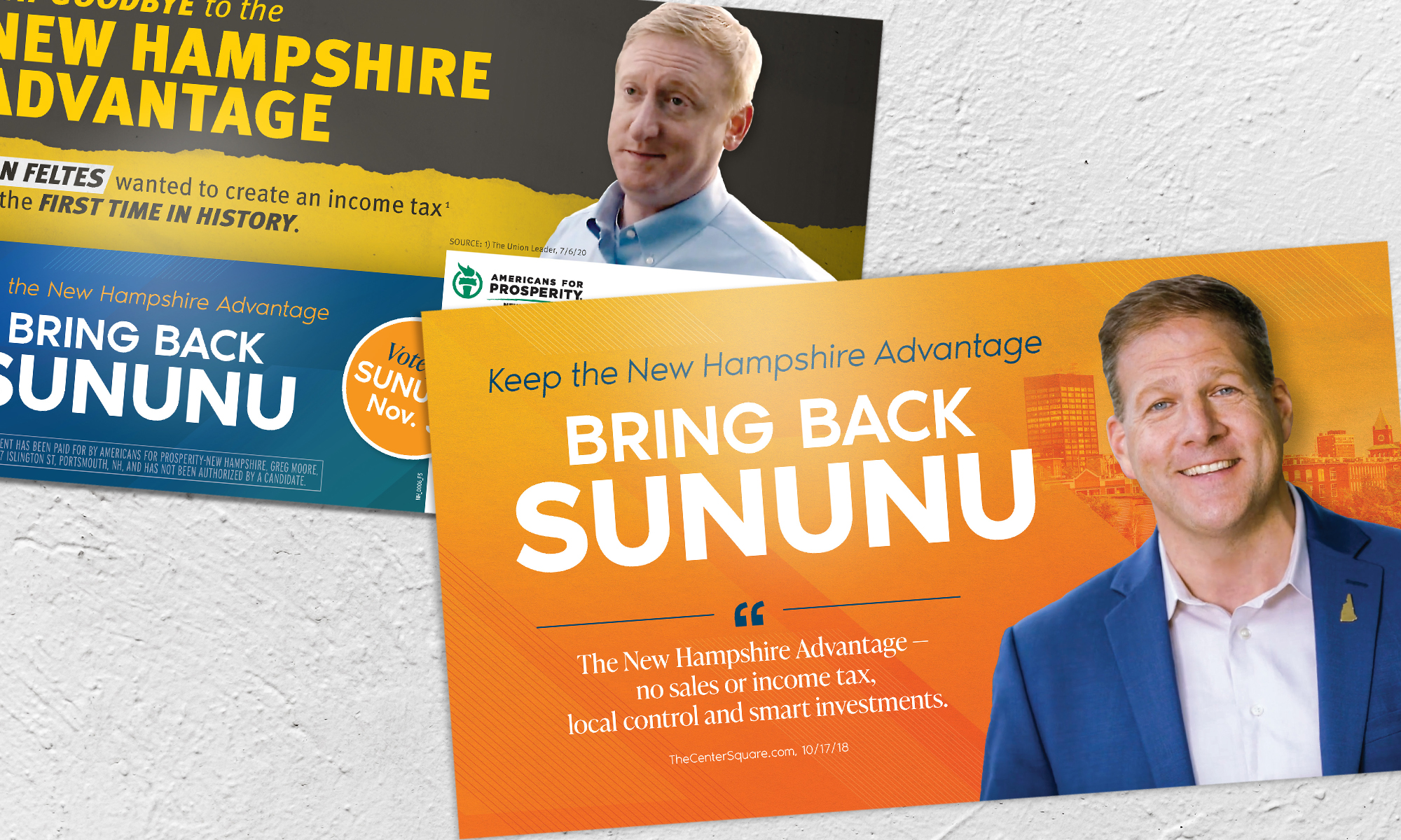 Americans for Prosperity-New Hampshire direct mail