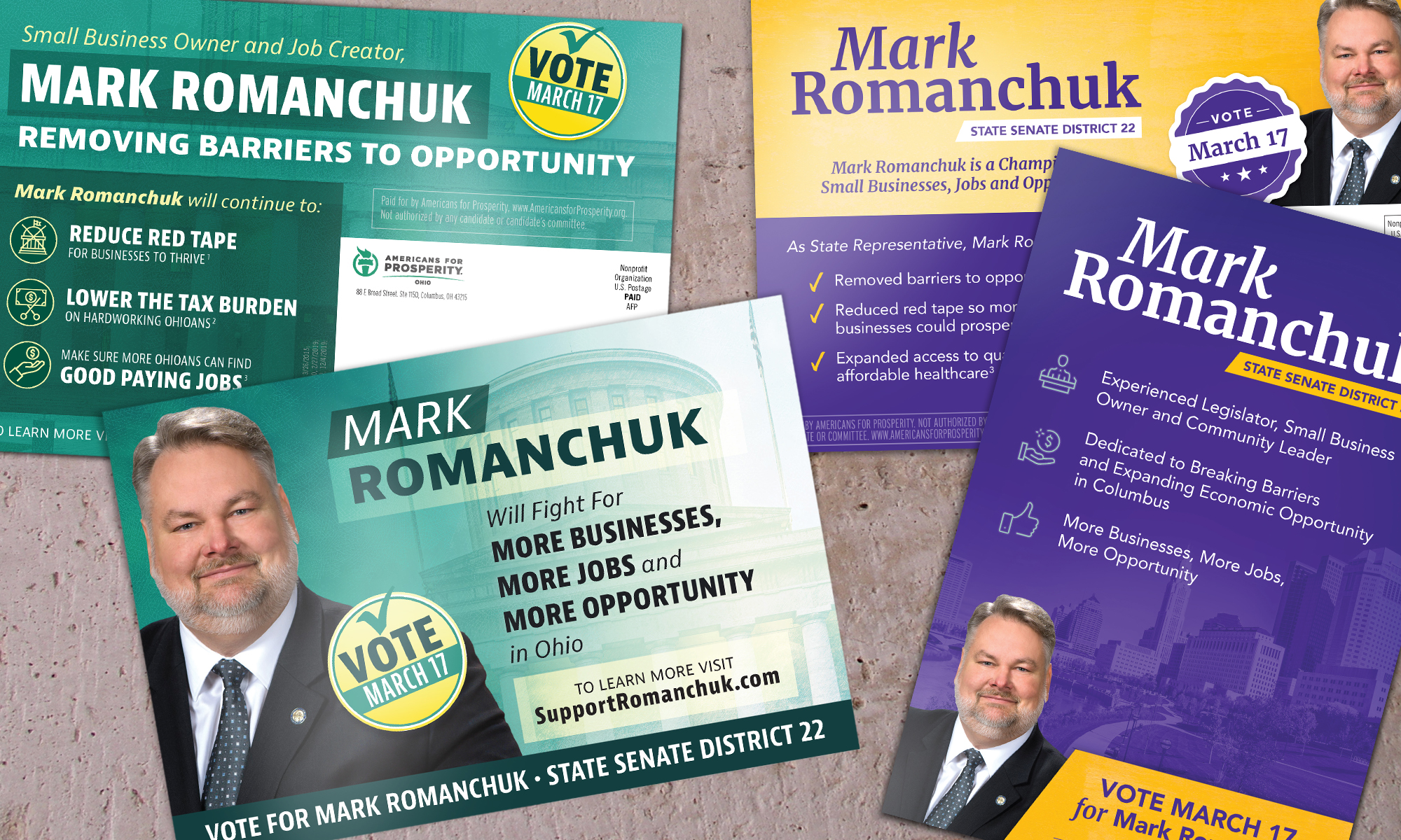 Americans for Prosperity-Ohio direct mail