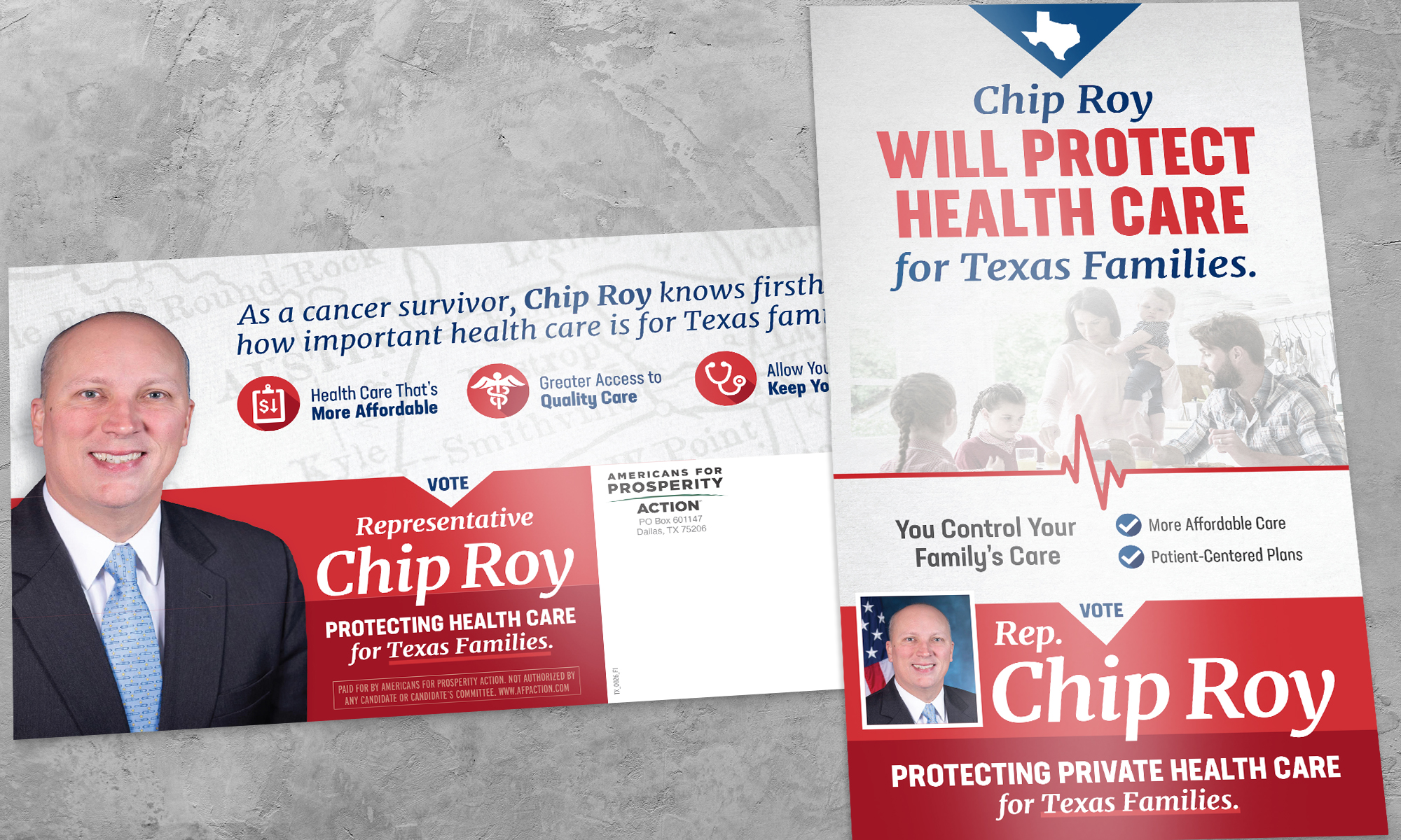 Americans for Prosperity-Texas direct mail