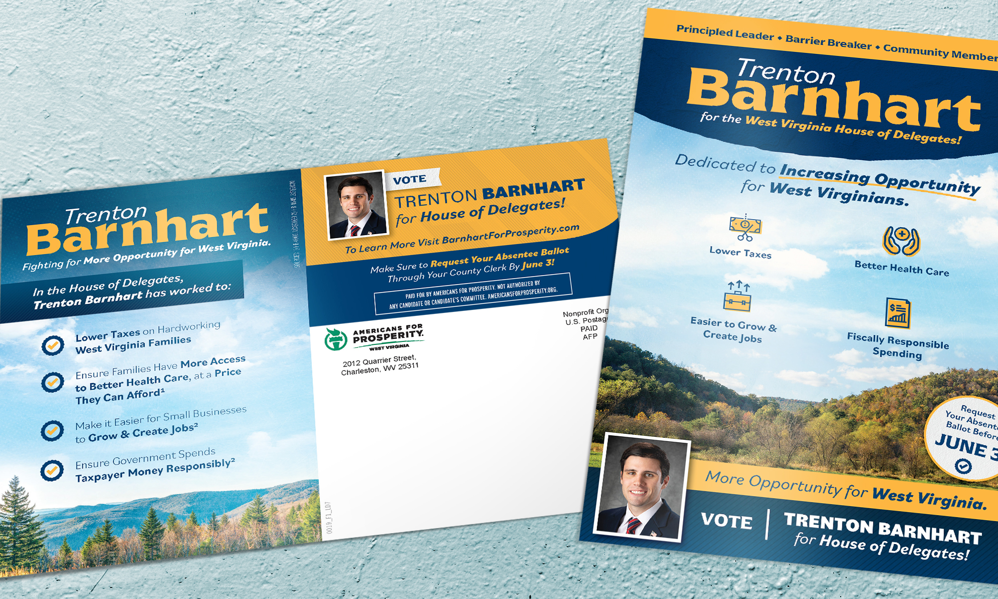 Americans for Prosperity-West Virginia direct mail